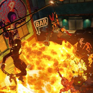 Sunset Overdrive screenshots are explosive
