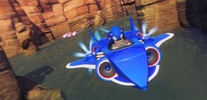 Sumo Digital: Sonic & All-Stars Racing Transformed is innovative