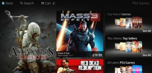 Sony reveals redesigned PlayStation Store