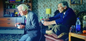 Video games make elderly people happier