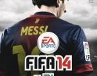 FIFA 14 box art is Messi